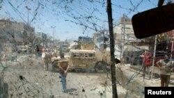 Багдаддагы жардыруунун бири ушул жерде болду. 30-май, 2016-жыл