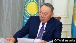 Президент Казахстана Нурсултан Назарбаев. Астана, 19 апреля 2017 года.