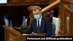 Ion Chicu în Parlament