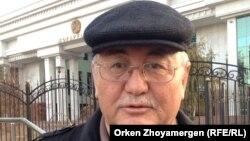 Журналист Рысбек Сарсенбай. Алматы, 2 ноября 2016 года.