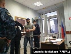 Артем Милушкин в суде