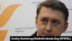 Ukrainanyň prezidentiniň gorag gullugynyň ozalky başlygy Mykola Melnyçenko. 23-nji mart, 2011 ý.