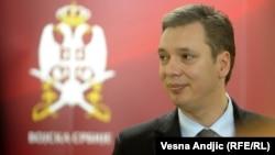 Zëvendëskryeministri i Serbisë, Aleksander Vuçiq.