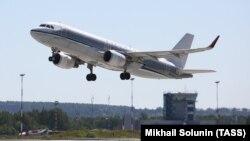 Самолет Airbus A320 российской авиакомпании «Аэрофлот».