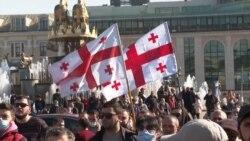 Georgians Rally Against Hydropower Plant Amid Environmental Concerns