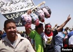 Супротивники Мубарака наочно показували, що хотіли підсудним кари смертю
