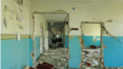 A ruined school in Ukraine's Donbas. A new report by HRW says hundreds of schools in eastern Ukraine have been destroyed, many after being used for military purposes. (HRW)