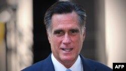 Кандидат в президенты США от Республиканской партии Митт Ромни