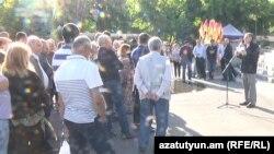 «Նոր Հայաստան»-ի ասուլիսը Ազատության հրապարակում: 19-ը մայիսի, 2016 թ․