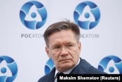 Aleksei Likhachev, the chief of Russian state nuclear power company Rosatom