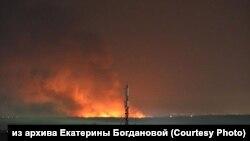 Иркутск облысындағы түрмедегі бүлік туралы әлеуметтік желіде тараған видеодан скриншот.