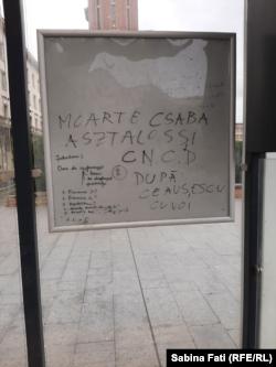 Mesaj de amenințare cu moartea la adresa președintelui Consiliului Național pentru Combaterea Discriminării, Asztalos Csaba, într-o stație din București