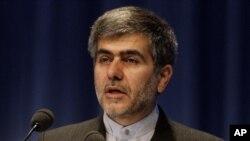 Ферейдун Аббаси Давани, Иранның вице-президенті, әрі Атом энергетикасы ұйымының басшысы. Вена, 19 қыркүйек 2011 жыл