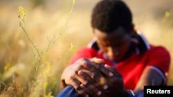 Мигрант из Сомали. Иллюстративное фото.