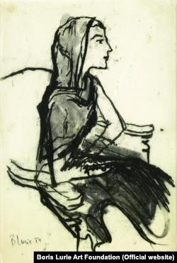 Рисунок Бориса Лурье