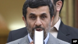 Махмуд Ахмадинежад, Тегеран, 9 мая 2011