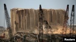 سیلوی ذخیره گندم کشور در کنار محل انفجار قرار داشت