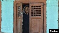 زن مسلمان کشمیری