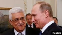 Vladimir Putin və Mahmud Abbas