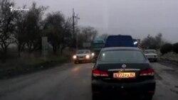 Выезд из Керчи заблокирован из-за ремонта трассы (видео)