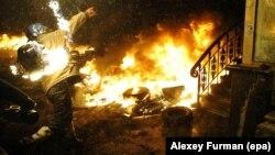 Ուկրաինա - Բախումները Կիևում, 22-ը հունվարի, 2014թ․