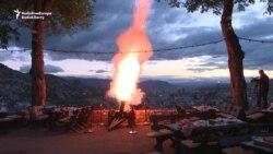 Cannon Blast Marks Iftar In Sarajevo