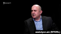 Armenia -- Former Karabakh Army commander Samvel Babayan gives an interview to Azatutyun.am, Yerevan, 17Oct2016