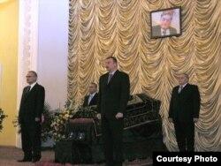 Prezident İlham Əliyev xalq şairi Qabilin dəfn mərasimində