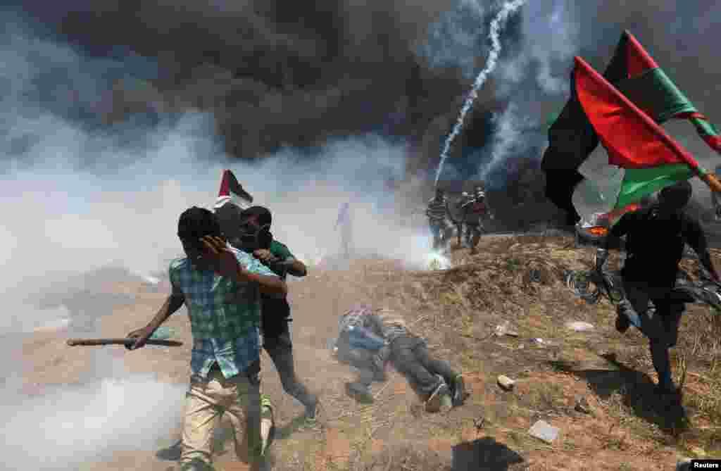"""Израиль премьер-министрі Биньямин Нетаньяху """"әрбір ел өзінің шекарасын қорғауға міндетті"""" деп мәлімдеді. БҰҰ Израиль әскерінің әрекетін сынады."""