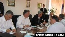 Sastanak čelnih ljudi vodećih stranaka BiH