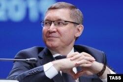 Россия қурилиш вазири Владимир Якушев .