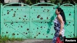 Одной из наиболее горячих точек на востоке Украины по-прежнему остается Славянск
