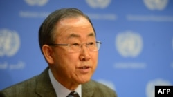 Secretary-General Ban Ki-moon made a surprise announcement at United Nations headquarters in New York on January 19, inviting Iranian officials to the planned Syria talks in Geneva on January 22.