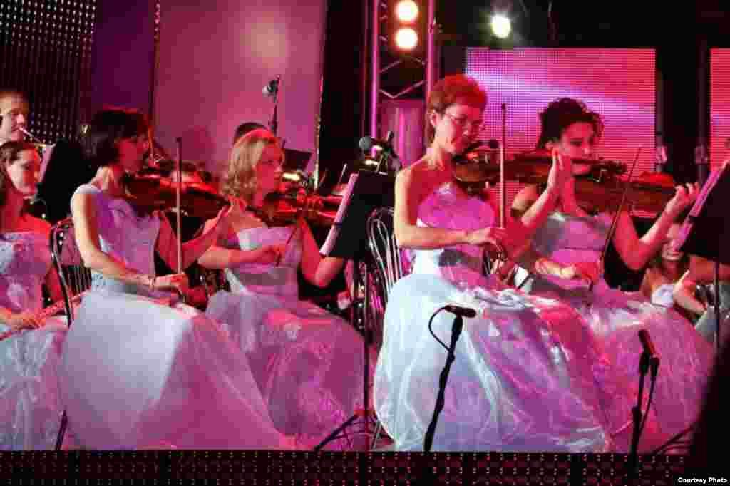"Анна Гөлишәмбарова җитәкчелегендәге ""Яңа музыка"" оркестры"