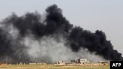 """""""Исломий давлат"""" Рамади яқинида 15 апрель тонгда ҳужум бошлади"""