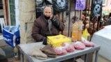 În piață la Florești