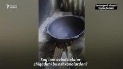 Боғча ошпази: Илтимос, бизнинг боғча шароити билан танишиб кетинглар