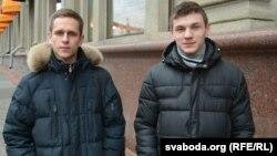 Данііл Кулікоўскіх і Андрэй Ходас