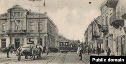 Imagine din Galați, începutul secolului XX