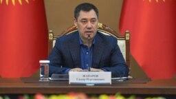 Kyrgyzstan - Prime minister Sadyr Japarov. Bishkek. October 23, 2020