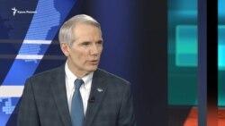 США удерживает санкции в ответ на агрессию России и аннексию Крыма – сенатор Портман (видео)