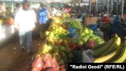 Кургантюбинский рынок