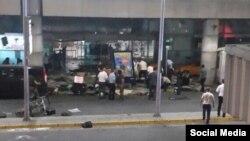 Ստամբուլի Աթաթուրքի անվան օդանավակայանը պայթյունից հետո, 28-ւ հունիսի, 2016թ.