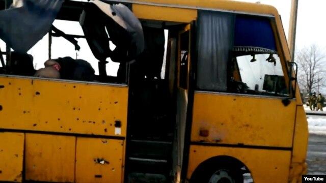 Автобус із загиблими пасажирами під