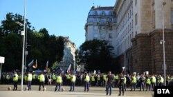 Mii de oameni au protestat în capitala Sofia față de Guvern