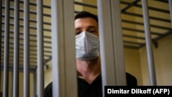 U.S. ex-marine Trevor Reed in a Moscow Court last year.