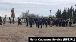 Ставрополь, задержания на акции в поддержку Навального 31 января