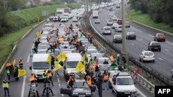 Fransada işçilərin tətili