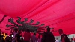 Протести на албански здруженија и партии против власта