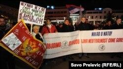 Anti NATO protest u Podgorici